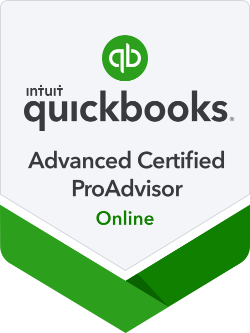 QucikBooks Advanced Certified ProAdvisor Online Badge
